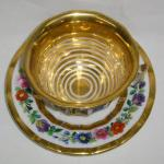Cup and Saucer - painted porcelain - 1840