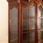 Vitrine - solid oak - 1950
