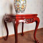 Flower Pot Table - mahogany - 1960