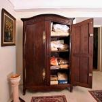Wardrobe - wood, solid wood - 1800