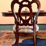 Four Chairs - solid oak - 1890