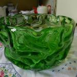 Glass Bowl - metallurgical glass - 1960