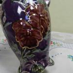 Vase from Porcelain - majolica - 1996