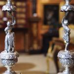 Pair of Silver Candelabra - silver - 1880