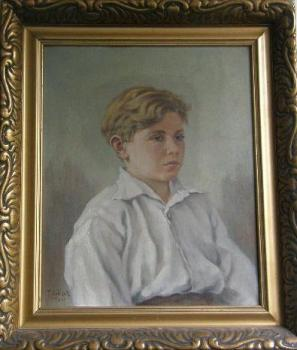Portrait of Child - F. Kubíèek - 1933