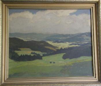 Landscape - Indruch - 1940