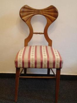 Pair of Chairs - cherry wood - 1825