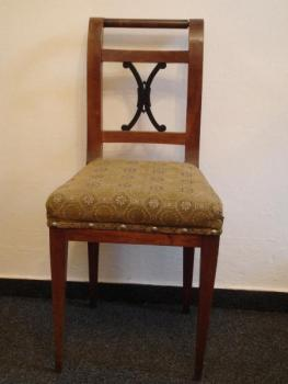 Chairs - solid walnut wood - 1830