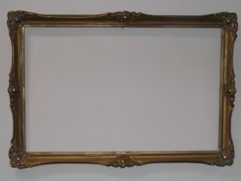 Picture Frame - wood, cast silver - 1910