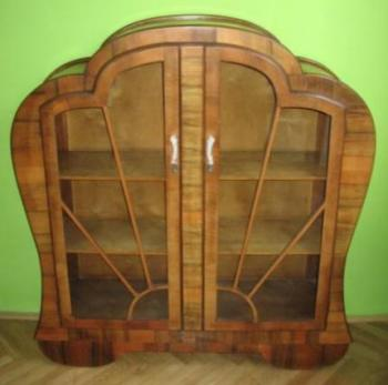 Bookcase with Glazed Doors - 1930