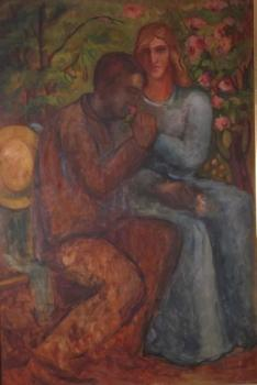 Oil Painting - Dìjev Platon (1901 - 1981) - 1937