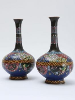 Vase - enamel, copper - 1930