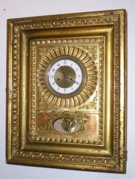 Wall Timepiece - wood - 1830