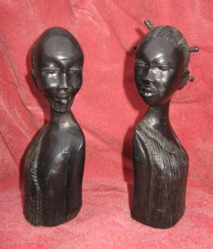 African Sculpture - wood - 1950