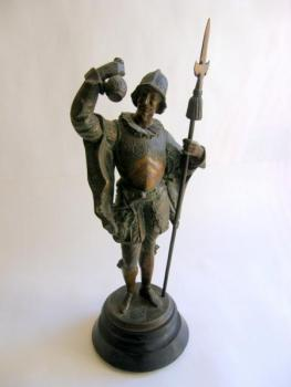 Sculpture - patinated bronze - 1890