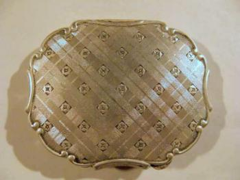 Silver Powder Box - silver - 1920