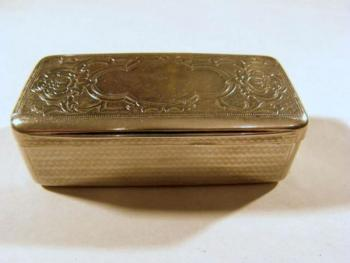 Silver Tobacco Box - 1900