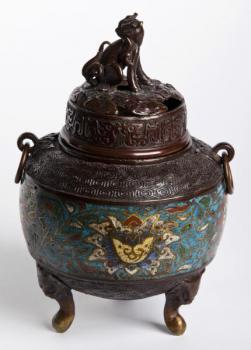 Metal Container - bronze - 1890