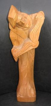 Woodcarving - solid wood - 1950