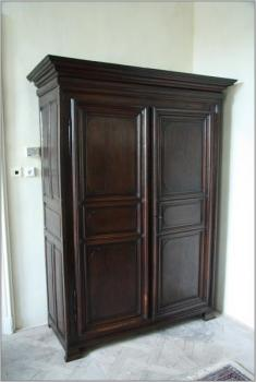 Wardrobe - solid oak - 1800