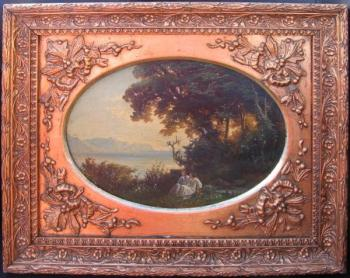 Romantic Landscape - 1850