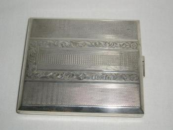 Cigarette Case - silver - 1900