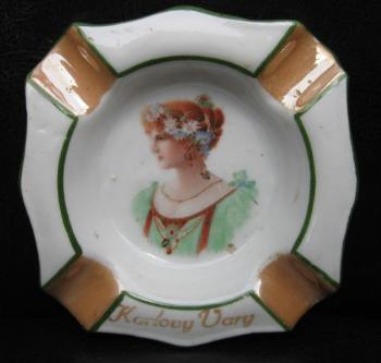 Porcelain Ashtray - 1930