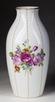 Porcelain Vase - glazed porcelain, painted porcelain - Rosenthal - 1930