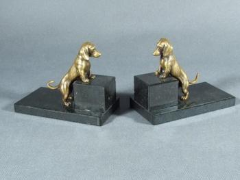 Bookends - bronze - 1950