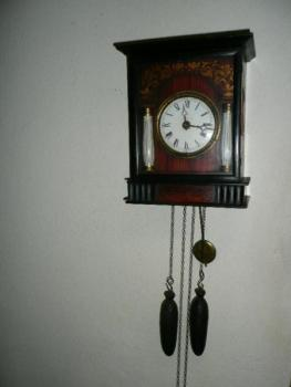 Clock with Driving Weight - 1890