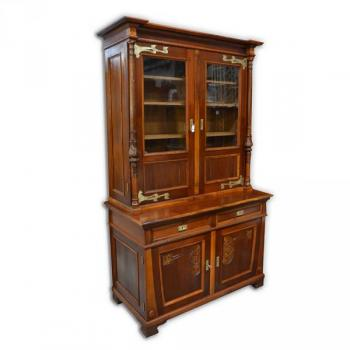 Cupboard - walnut wood - 1900