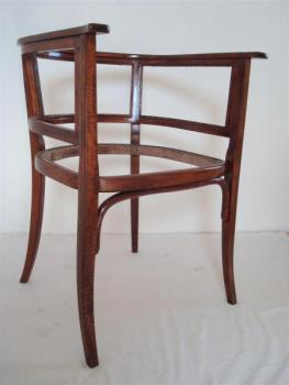 Pair of Armchairs - bent beech - Thonet Austria - 1900
