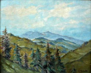 Vaclav Prihoda - Mountain scenery