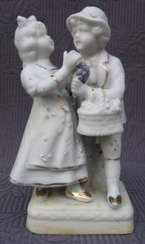 Porcelain Figurine - bisque - 1910