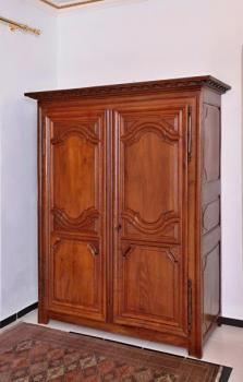 Wardrobe - solid oak - 1780