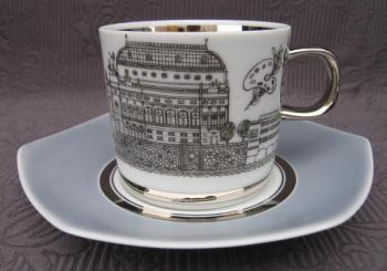 Cup and Saucer - 1970