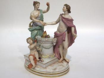 Meissen Porcelain Figural Group - 1890