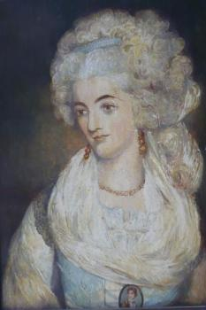 John Russell - Portrait of a Lady, copy