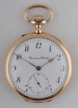 Pocket Watch - gold - International Watch Co. Schaffhausen - 1900