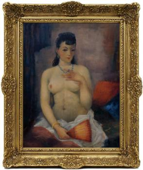 Nude Painting - 1950
