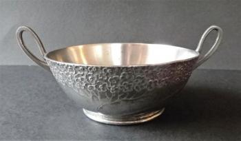 Art Nouveau pewter bowl - Orivit