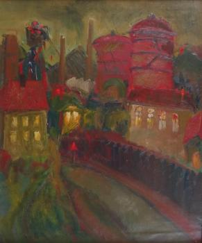 Marcela Vasku - Kladno City at night