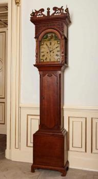 Longcase Clock - solid wood - 1820