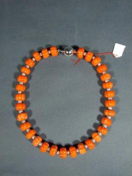 Coral Necklace - coral - 1930