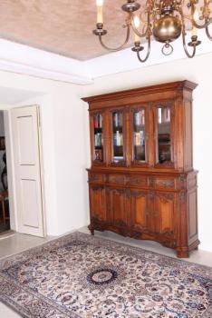 Bookcase with Glazed Doors - solid oak - 1858