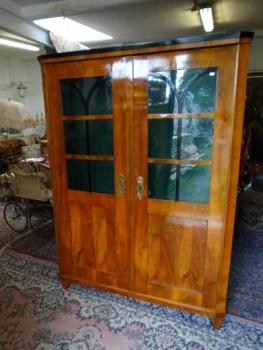 Bookcase with Glazed Doors - 1860