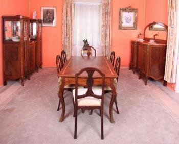 Dining Room Furniture - patinated bronze, solid wood - 1900