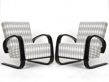 Cantilever Lounge Chair by Miroslav Navratil