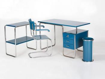 Tubular Steel Office Set, 1930s