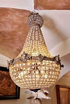 Chandelier - crystal - 1970